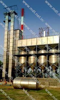 80 ton boiled dryer with parboiling unit