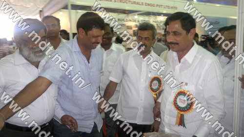 minister visited our exhibition stall