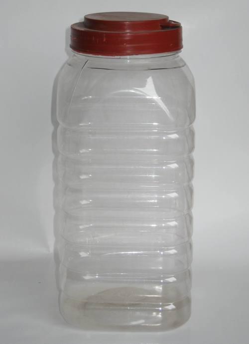 Candy Square Pet Jar