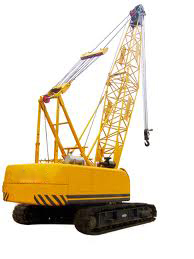 Working Model Of Crawler Crane