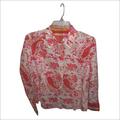 # Flower printed ladies shirt