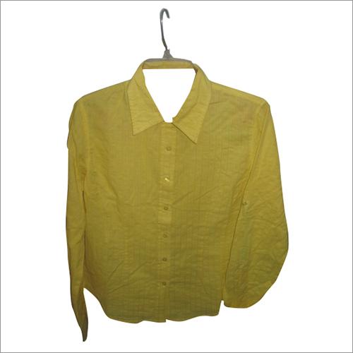 Ladies shirt in dobby