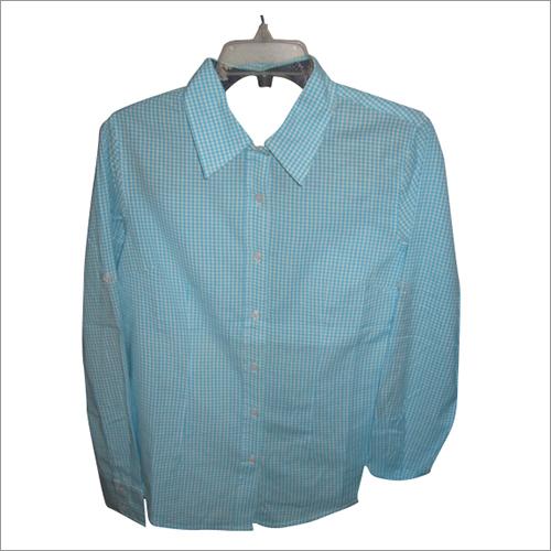Ladies checks shirt