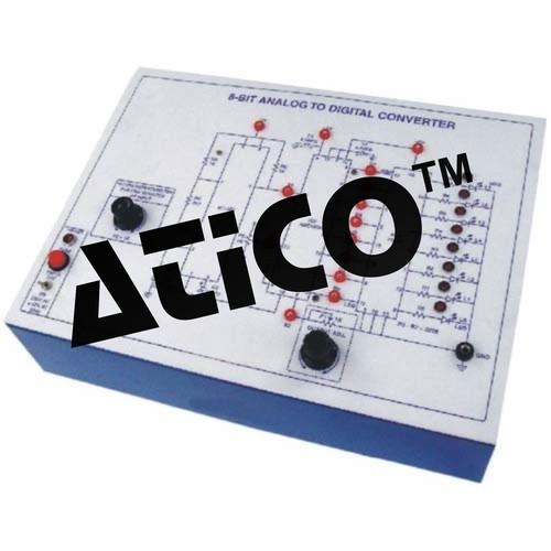 8-Bit Analog to Digital Converter