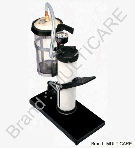 SS Vertical Foot Suction Pump