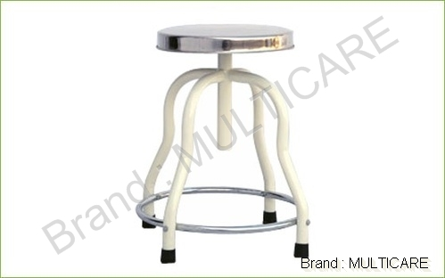 Patient Revolving Stool S.S. Top