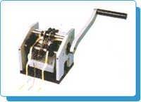 Axial Component Manual Cut & Bend Machine