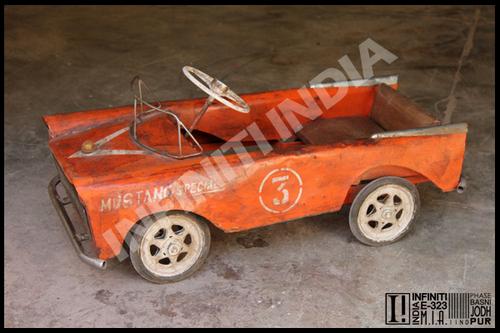 Vintage Antique Toy Pedal Car
