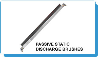 Passive Static Discharge Brushes