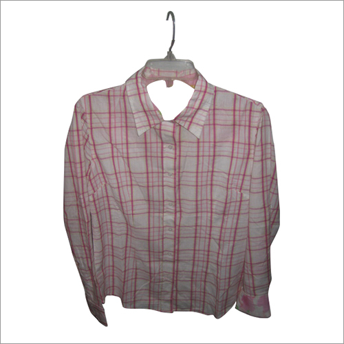 Ladies checks shirt