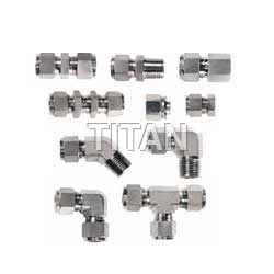 Single Ferrule Tube Fittings