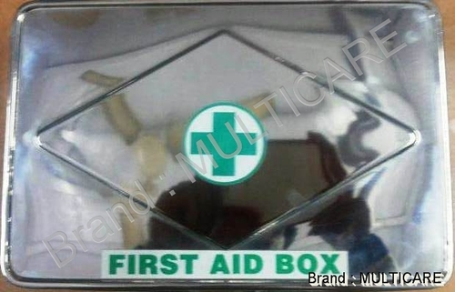 First Aid Box Stainless Steel Type