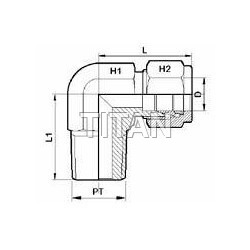 Tube Fitting Male Elbow