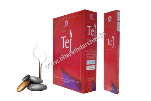 Tej 20 Incense Sticks Flat Box Packing