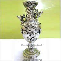 Silver Decorative Flower Vase