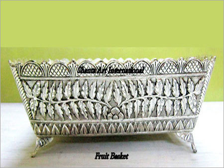 Silver Fruit Basket