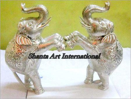 Decractive Silver Elephant