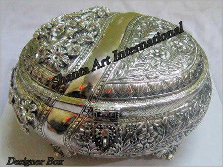 Silver Designer Box