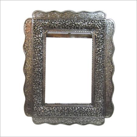 Silver Mirror Frames