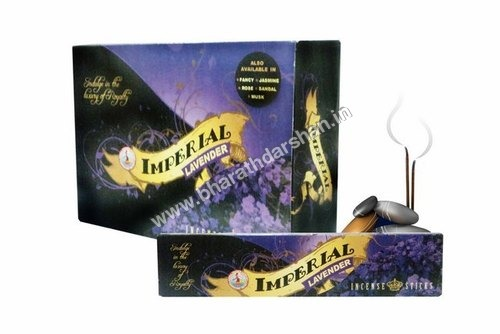 Imperial Lavender 20 Sticks Flat Box Packing.