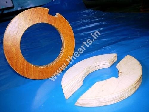 Densified Laminated Wood & Arc Block