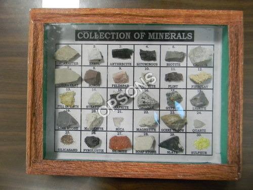 set of minerals