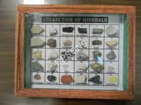 set of minerals