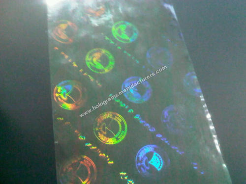 Holographic Anti Counterfeit Overlay for PVC Card Printers