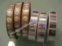 hologram labels on reels