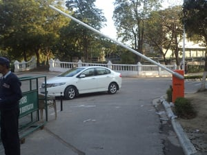 Automatic Traffic Barrier