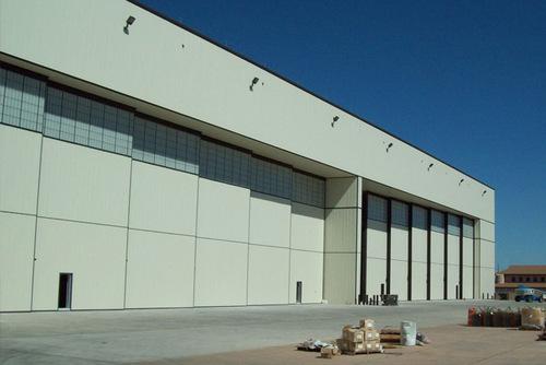 Automatic Aircraft Hangar Doors