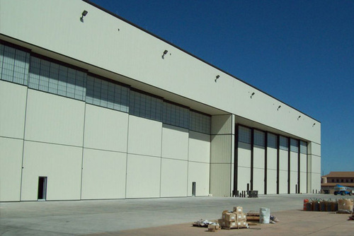Automatic Aircraft Hangar Doors