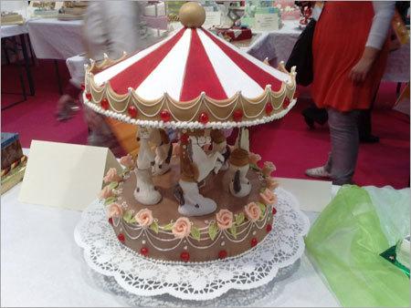 Cake Shaped Merry Go Round