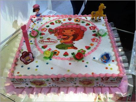 Cake Shaped Fancy Girl
