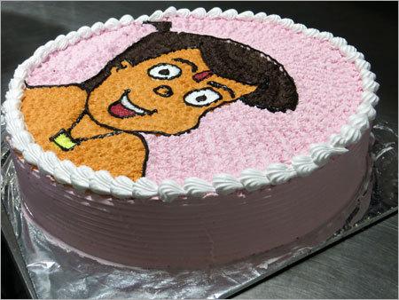 Cake Shaped Chota Bheem