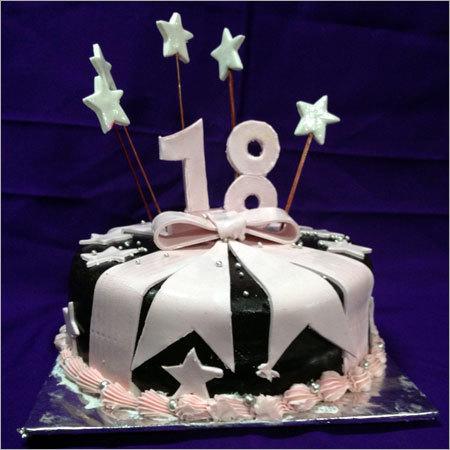 Cake Shaped 18 Years