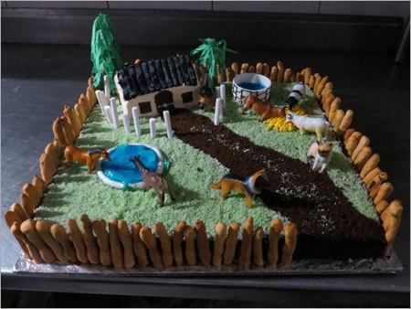 Cake shape Farm House