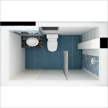 Toilet Interior Designing