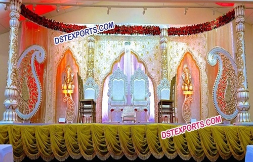 Asian Wedding Lavish Wedding Stage Set