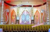 Asian Wedding Lavish Wedding Stage Set