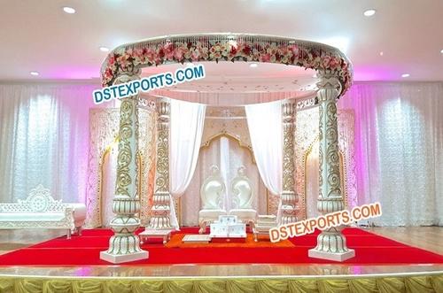 Indian Wedding Rajwada Carved Designer Mandap