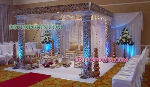 Wedding Pearl Carved Mandap