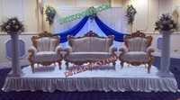 Wedding Stage Gold Furniture Set