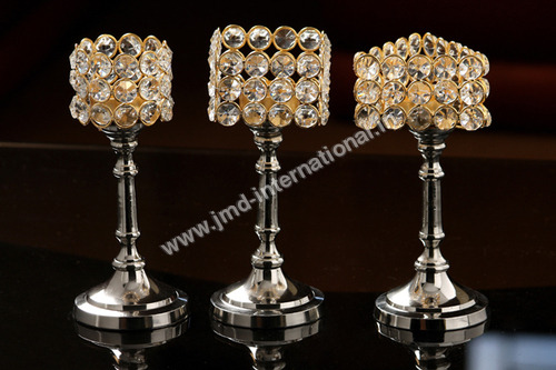 Wedding Crystal Candle Holder