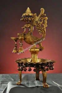 Decorative Copper Deepak
