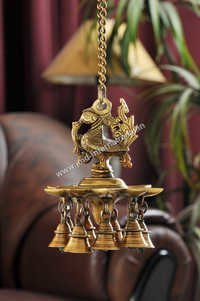 Brass Hanging Deepak