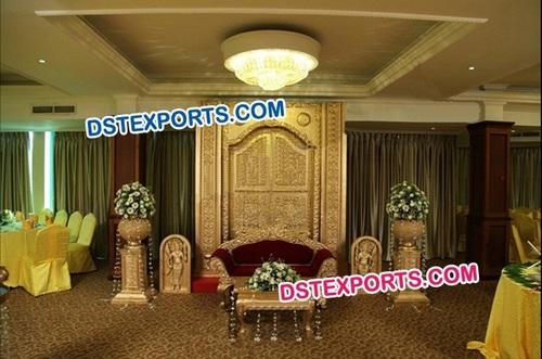 Wedding Traditional Door Backdrop