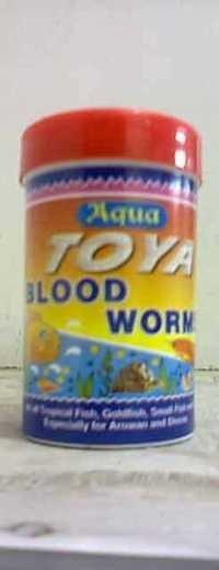 Toya Blood Worm Aquatic Fish Food