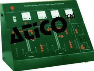 Parallel Operation of Two Single Phase Transformers\\011