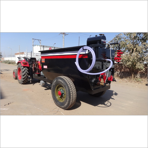 Bitumen Emulsion Sprayer With Compressor